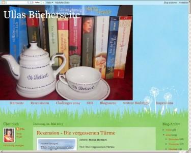 Ullas Bücherseite